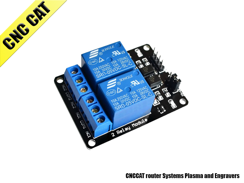 2 Channel 5V Relay Module Expansion Board for Arduino
