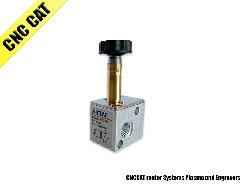 Air Solenoid Electric Valve 1/8 - 3 way 2 position