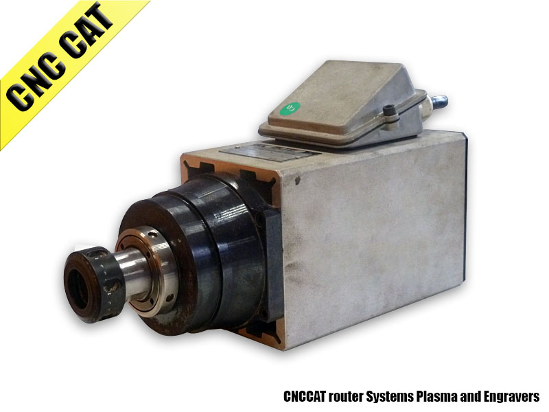 Air-Cooled Motor Spindle 4.5KW TMPE 10/2 (used)