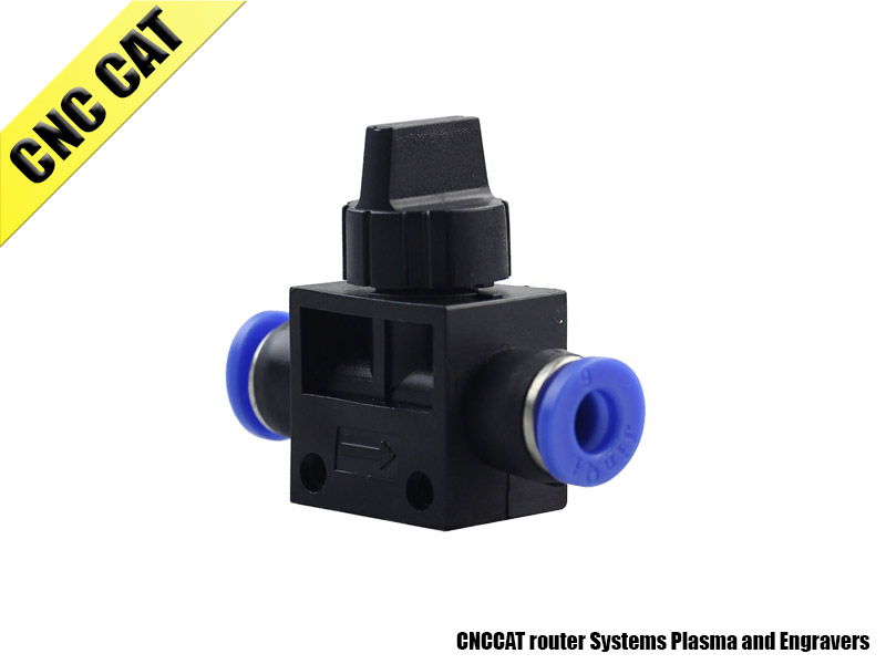Ball valve One Touch Fitting Pneumatic Connector 6mm to 6mm