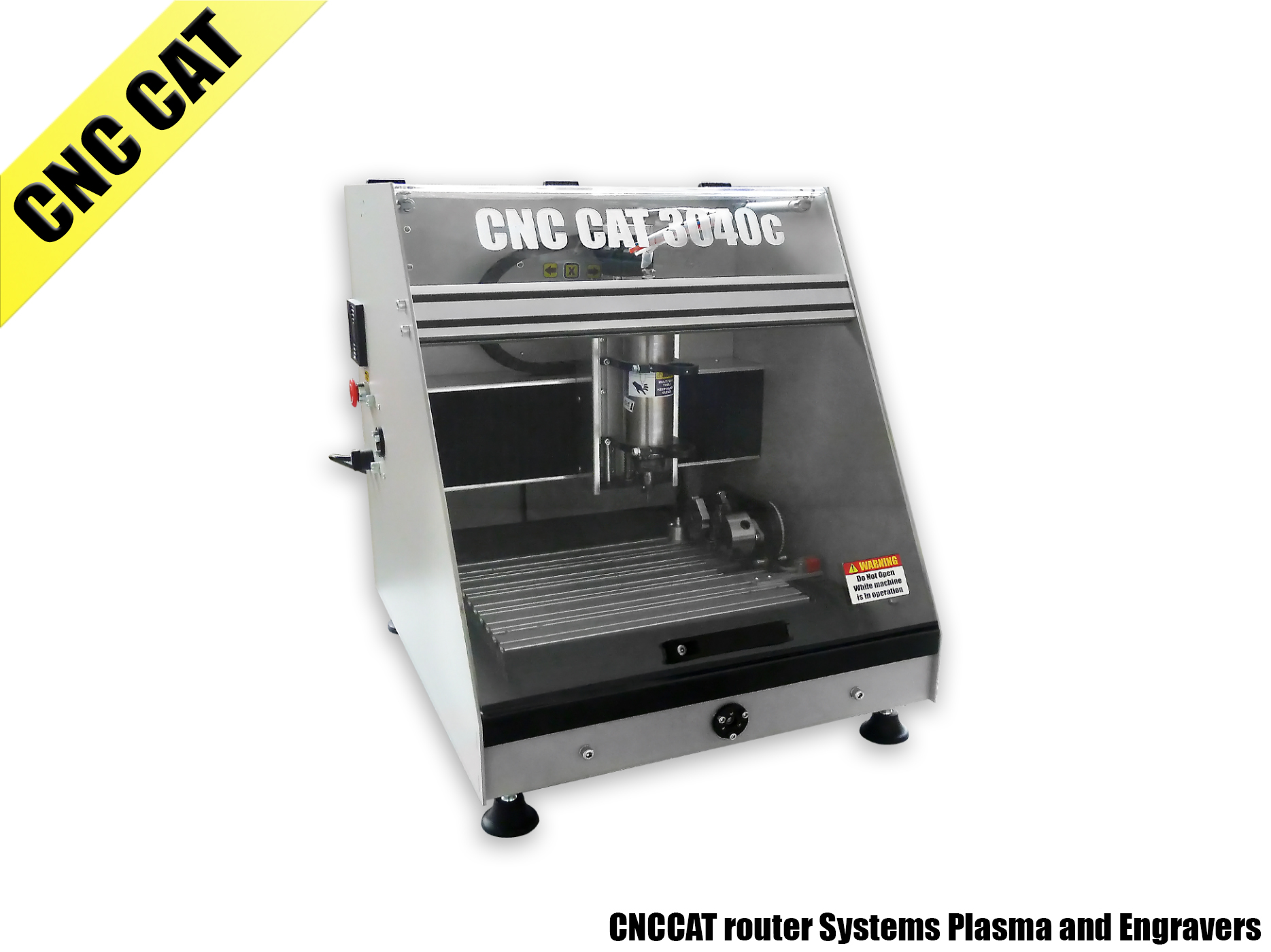 CNC CAT-WS 4th axis