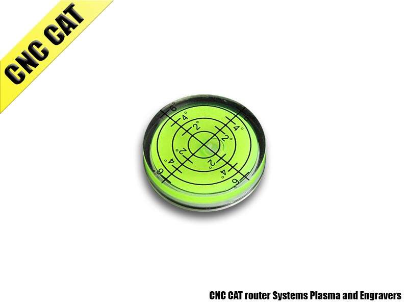 Circular Turntable Bubble Spirit Degree Mark Surface (32 x 7mm)