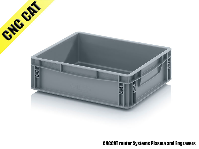 Container 400x300x120mm Closed Handles