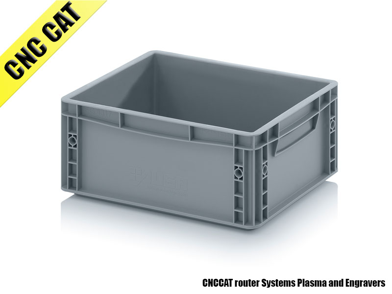 Container 400x300x170mm Closed Handles