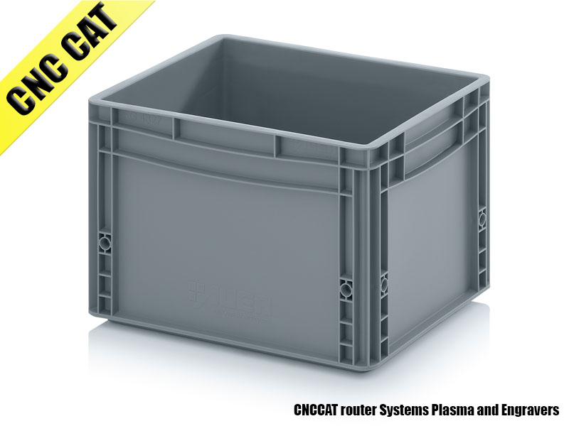 Container 400x300x220mm Closed Handles