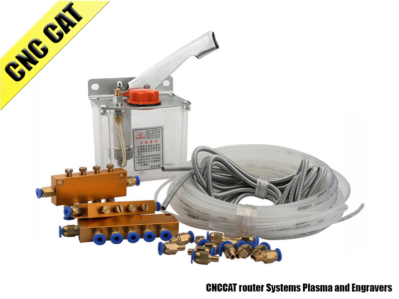 Manual Oil Lubrication Pump System