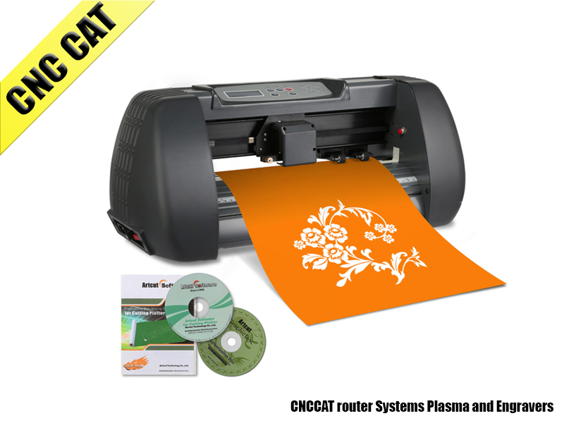 375mm Vinyl Cutting Plotter Desktop Machine