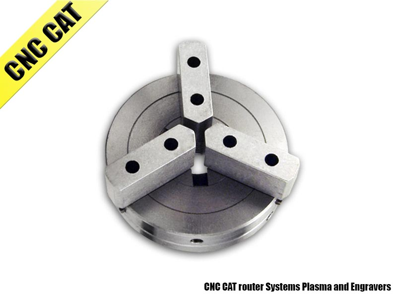 80mm 3 Jaw Self-Centering Chuck 3/4-16 Thread