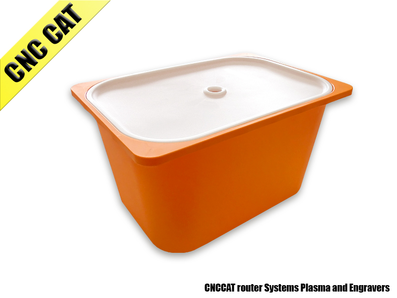 28L Plastic Container for Water-Cooled Spindles or Coolant Liquid