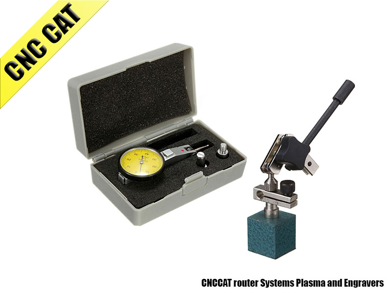 Dial Test Indicator & Magnetic base measuring milling Lathe