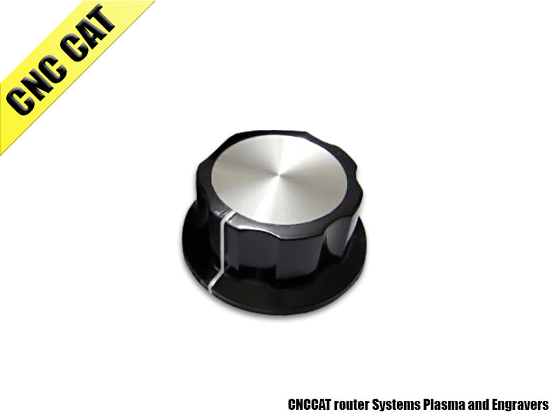 Aluminium insert KNOB 45mm x 20mm (outer Diameter x Height)