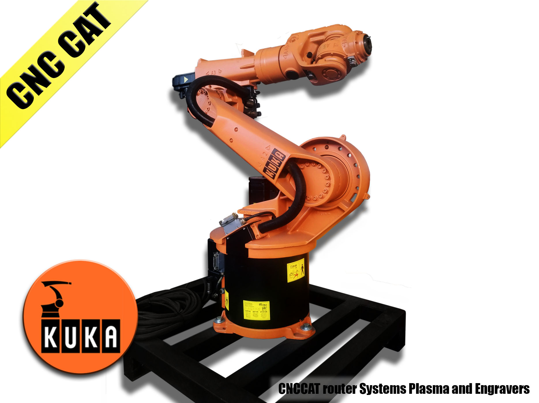 Refurbished robot Kuka KR15/2(2005)with KRC2 XP controller(2005)